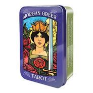 Tarot Morgan Greer Tarot Tin (lata Este Tarot Esta En Ingles