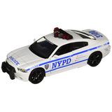 Daron Nypd Dodge Charger Fundido Vehículo 1/24 Escala
