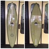 Tabla De Surf Single Fin Wolv Classic 6