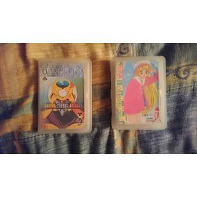 2 Mazos De Cartas De Poker, De Sailor Moon Y Evangelion