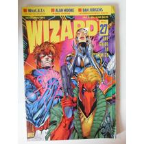Revista Comics Wizard # 27 Retro 1993 Dc Wild C.a.t.s