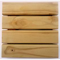 Deck Modular De Madeira Tratada 30 X 30 - Sem Verniz