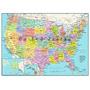 Estados Unidos De América Mapa 1,000 Piezas De Rompecabezas
