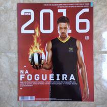 Revista Istoé 2016 Maio Ed6 Allan Do Carmo / Vôlei Do Brasil