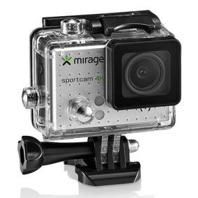 Câmera Mirage Sport 4k Mr3001 Cartão Memória 16gb - Com Nfe