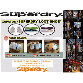 Zapatos Superdry Loot Shoe Originales