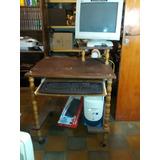 Mesa Escritorio Para Computadora-de Madera