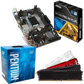 Kit Proc. G4560 + Mb Msi H110m Ddr4 Pro-vh+ 8gb 2400mhz