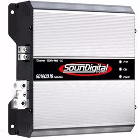 Módulo Soundigital Sd1200.1d Evo - 1 Canal 1200w Rms