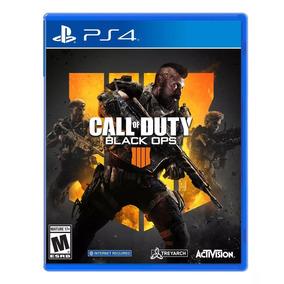 Jogo Call Of Duty Black Ops 4 - Ps4 *pronta Entrega*