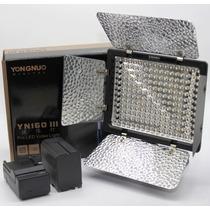 Iluminador Led Yongnuo Yn160 Iii + Bateria F970 + Carregador