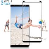 [3-pack] Samsung Galaxy Note 8, Muanbol [burbuja Libre] [fá