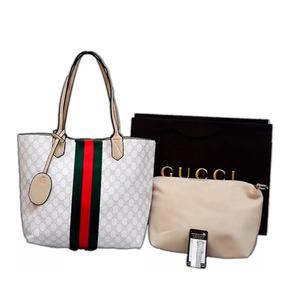 Bolsa Y Organizadora Gucci Dama Bolso Doble Vista C. E.