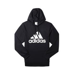 Buzo adidas Logo Hoodie Hombre Ay6312