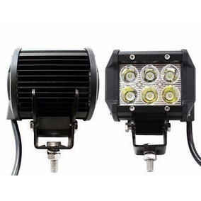 Faro Proyector 6 Led 18w 1620lm Rectang Para Todo Terreno