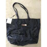 Cartera Bolso Azul Calvin Klein Original