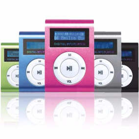 Mp3 Player Fm Clip Entrada Micro Sd Suport 32gb Fone