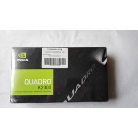 Tarjeta De Video Nvidia Quadro K2000 2gb Gddr5 Caja Sellada