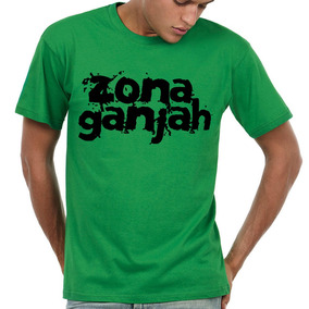 Remera Zona Ganjah Zg Reggae Musica Chala Excelente! Mod1