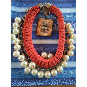 Bisutería Fina -- Collar Y Pulsera Orange Shine