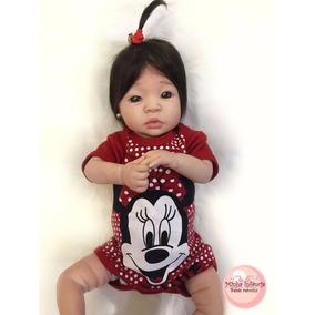 Bebê Reborn Personalizada Nina, Pronta Entrega+ Frete Grátis