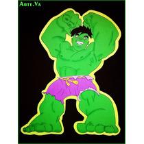 Figura De Hulk, Spiderman En Goma Eva 50cm