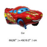 Balão Metaliz. Carro Relâmpago Macqueen Kit/20 +frete Grátis