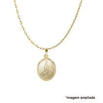Pingente Ouro 18 Quilates Símbolo Mãe Love Dia Das Mães