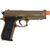 Pistola Airsoft Spring / Mola - Taurus Pt92 Marrom