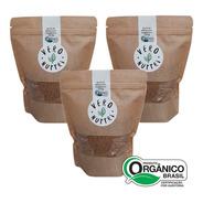Kit Açúcar Mascavo Orgânico Vero Nuttri  (3 Un)