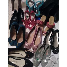 Lote De 200 Pares De Zapatos Tacon, Valerinas Y Botas