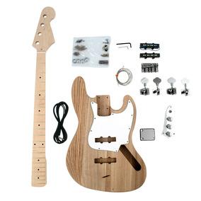 Kit De Baixo Desmontado Jazz Bass 4 Cordas Em Ash Snbk001