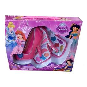 Maquiagem Infantil Personagem Princesas Em Formato De Sapato