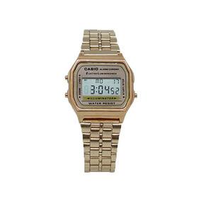e53605b2696 Timbrador Para Marcar Pe As Em Ouro Feminino - Relógio Casio no ...