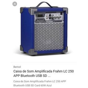Caixa Amplificada Fhram 60w