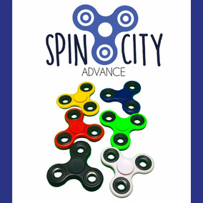 Fidget Spinner Spincity Advance Antiestrés Original Barato