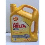 Aceite De Motor 15w40 Mineral Shell Helix