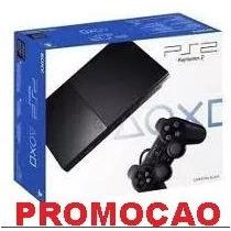 Caixa Playstation 2 Ps2 Slim (vazia E Nova) Perfeito Estado!