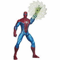 Figura Web Battlers Amazing Spider Man 15cm Hasbro Spiderman