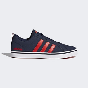 adidas neo roja y azul