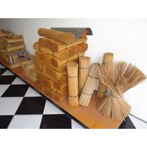 Vareta De Bambu 55cm P/ Pipas Gaiolas Aprox. C/800