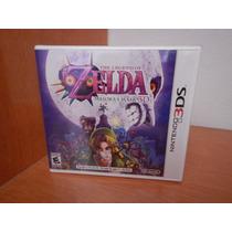 Legend Of Zelda Majoras Mask 3ds Nuevo Sellado Envio Gratis!