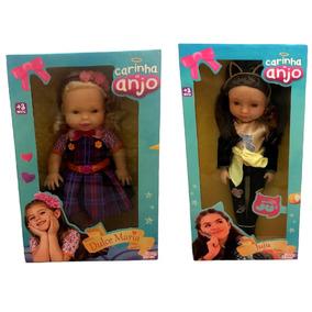 Kit Bonecas Carinha De Anjo Baby Brink : Dulce Maria + Juju