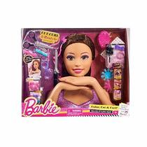 Barbie Cabeça Da Boneca Para Pentear E Maquiar