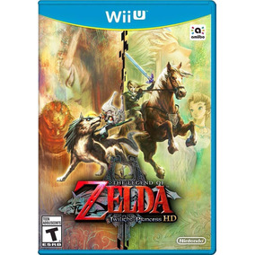 The Legend Of Zelda Twilight Princess Hd Wii U Novo Lacrado