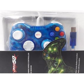 Controle Xbox 360 Com Fio Usb Cabo 2 Mts Manete Pc Original