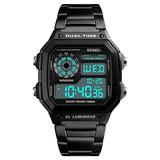 Relógio Skmei 1335 Digital Pulseira De Aço Prova D