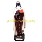 Imagem Santa Efigênia Ifigenia Estatua Gesso 60cm Protetora