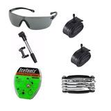 Kit Para Bike Com 6 Itens