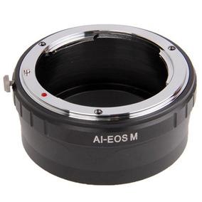 Lente Para Anillo Stepping Nikon Ai Canon Eo Ring Negro